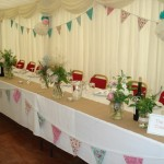 Top Table Marquee Dalduff Farm
