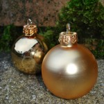 Glamorous Gold Bauble Placecard Holders