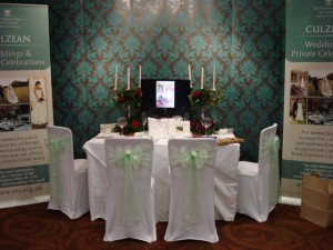Culzean Castle's Display at Ayrshire Wedding Show 2014