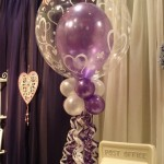 Double bubble balloon