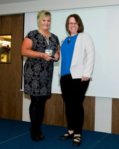 YE Award for Best Link Teacher to Tracy Allen